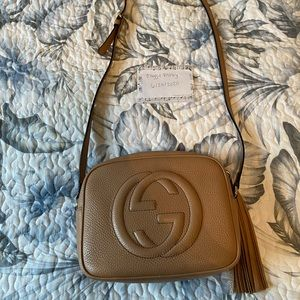 Gucci Soho Disco Crossbody Bag- LIKE NEW